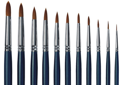 brushes for artist